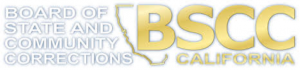 BSCC Logo, outline of state of CA