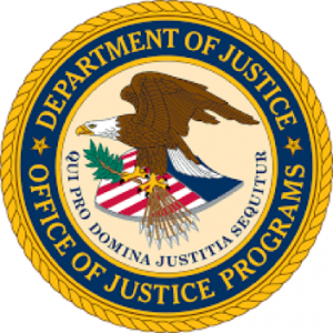 Seal of DoJ Office of Justice Programs, Eagle and shield