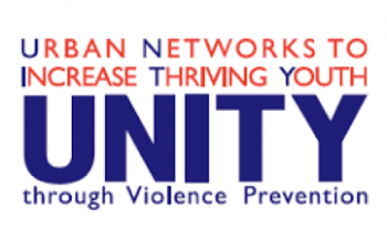 UNITY Logo, blue and purple words